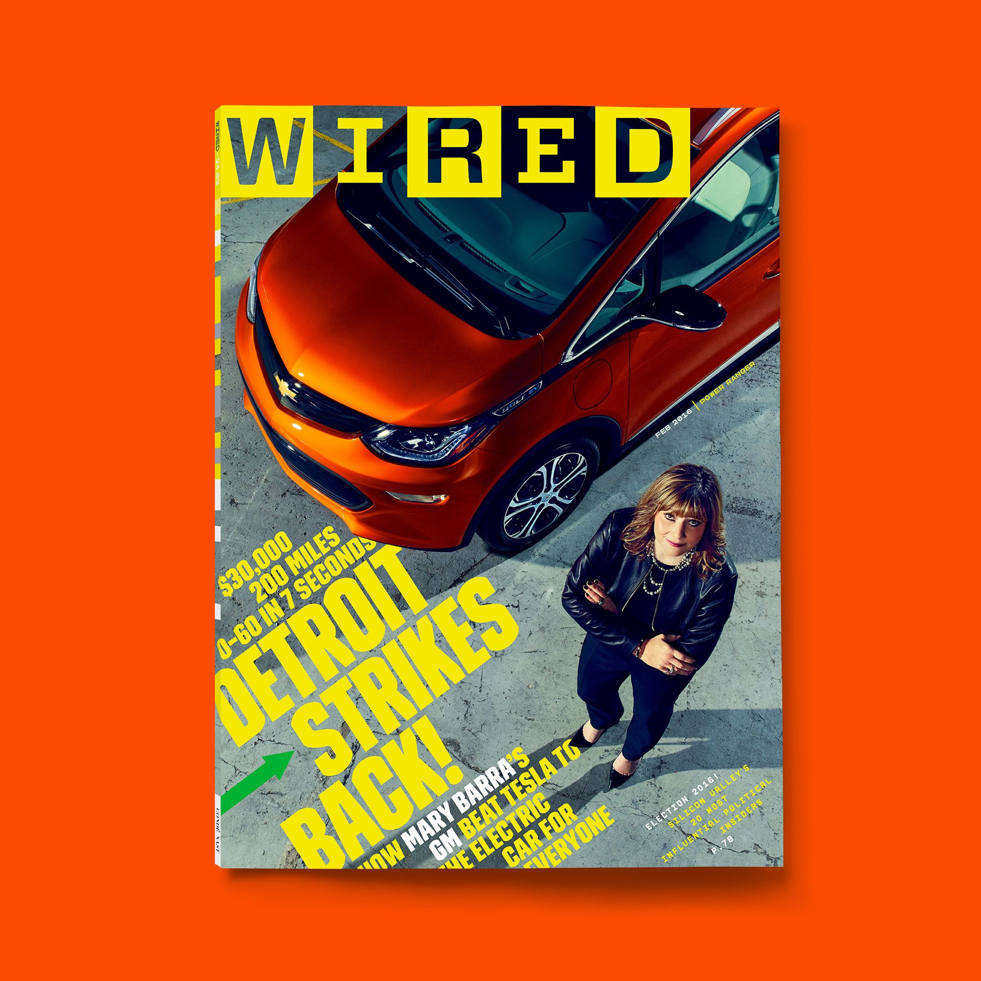 WIRED February 2016 issue cover | WIRED Covers | Pinterest ...