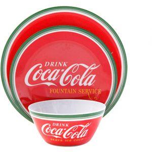 Classic Coca Cola 12-Piece Dinnerware Set  sc 1 st  Pinterest & Classic Coca Cola 12-Piece Dinnerware Set   Coca Cola   Pinterest ...