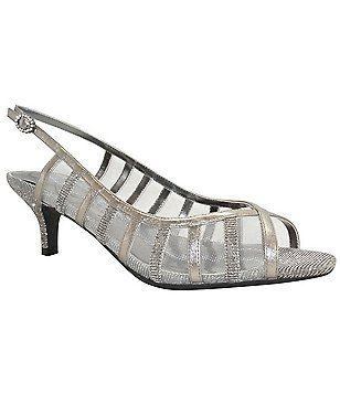 J. Renee Rebeka Caged Slingback Dress Sandals · Women's Shoes ...