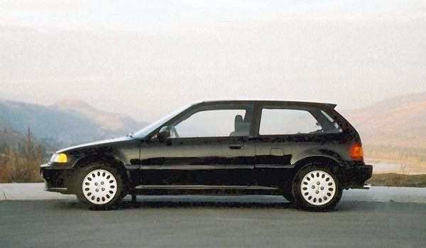 1988 Honda Civic. (Photo Courtesy Larry Printz, The Virginian Pilot) I