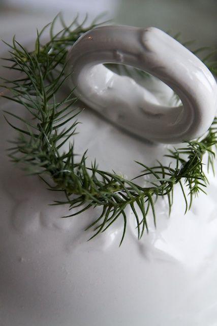 rosemary + white
