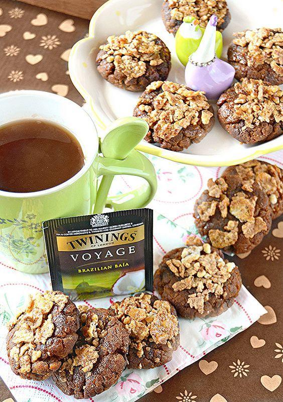 Cookies al cioccolato con Corn flakes (dolci a go go ...
