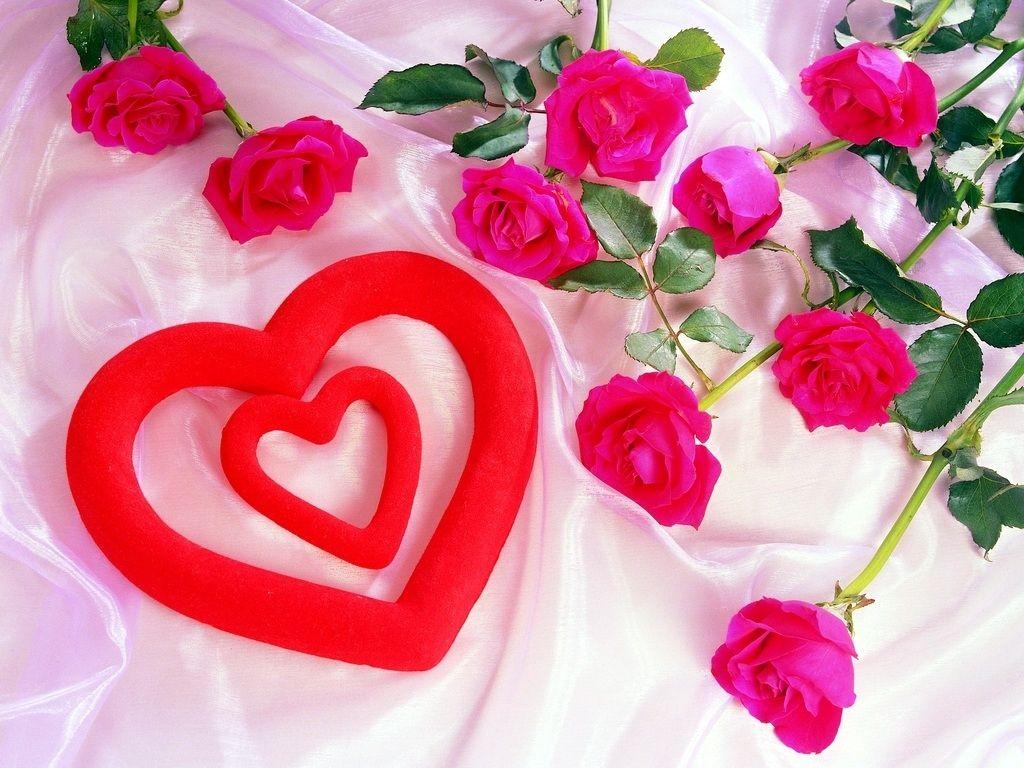Wallpaper download hd love 2016 - Love Wallpapers Heart And Flowers Beautiful For Valentine Dau 2013 Download Visit Heroeswallpapers Com