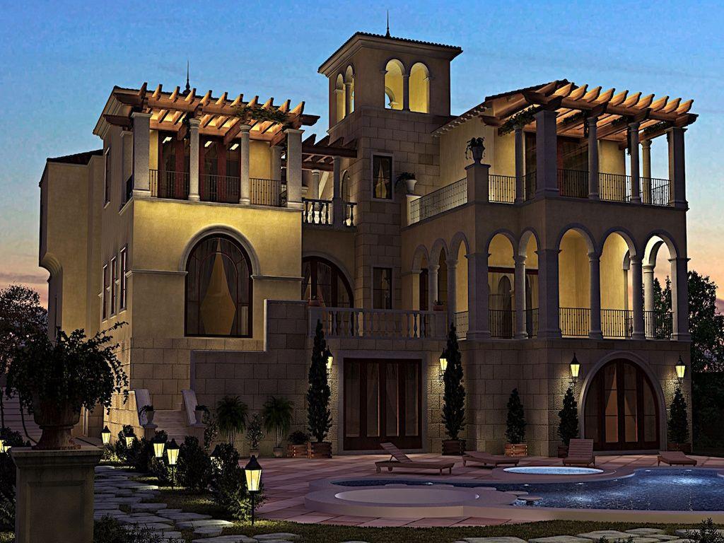 Белый дом в дубае зарубежная недвижимость покупка