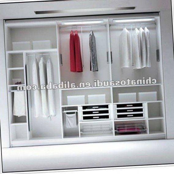 2017 Modern Simple Closet Wooden Designs In Bedroom Wall: Almirah Designs For Bedroom, Bedroom Furniture Design