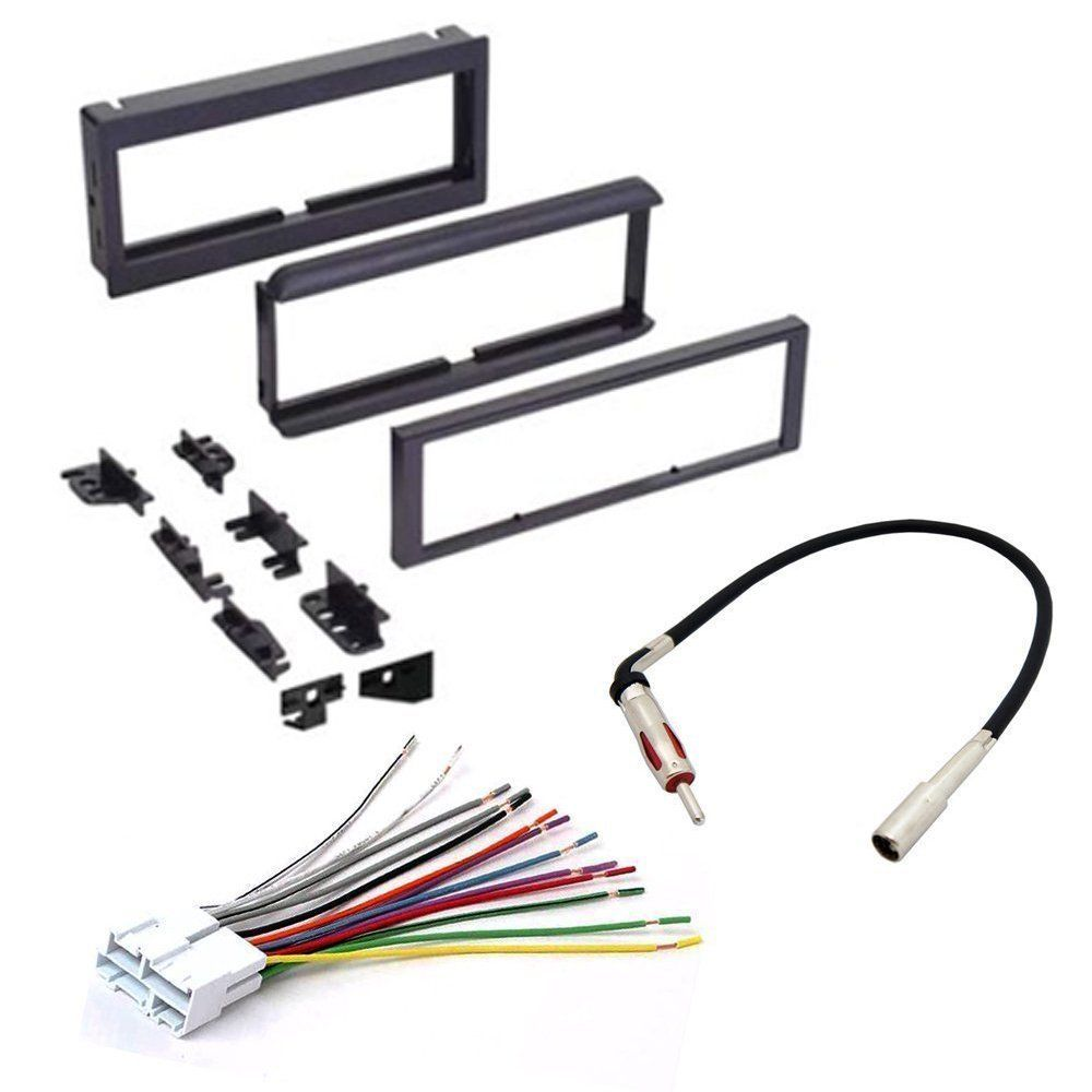 Chevrolet 1998 2001 S10 Car Cd Stereo Receiver Dash Install Fitting Kit Wiring Harness Iso Aerial Adaptors Mounting Wire