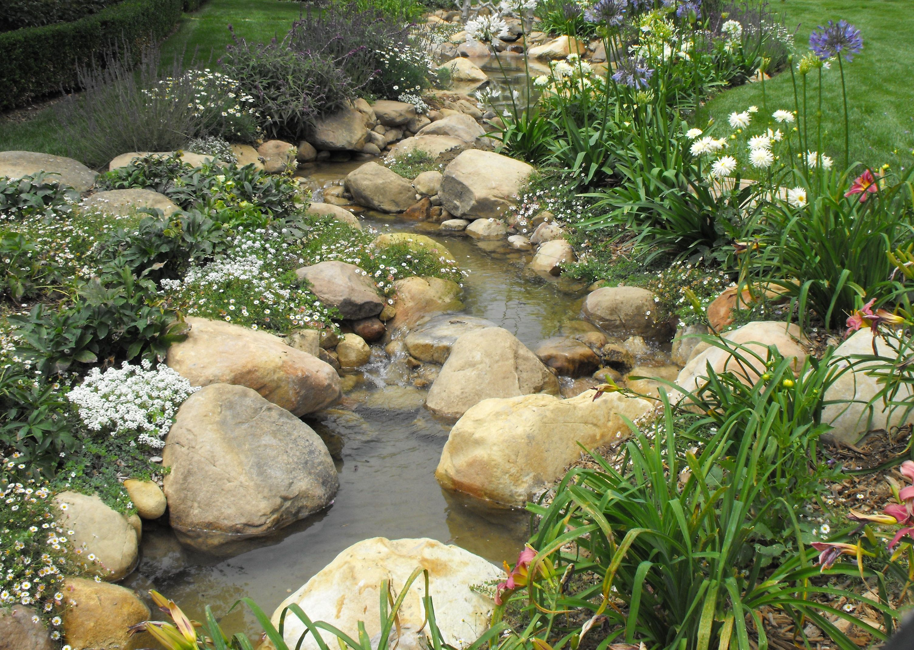 i u0027d like to build a creek instead of a typical fountain u0027ish