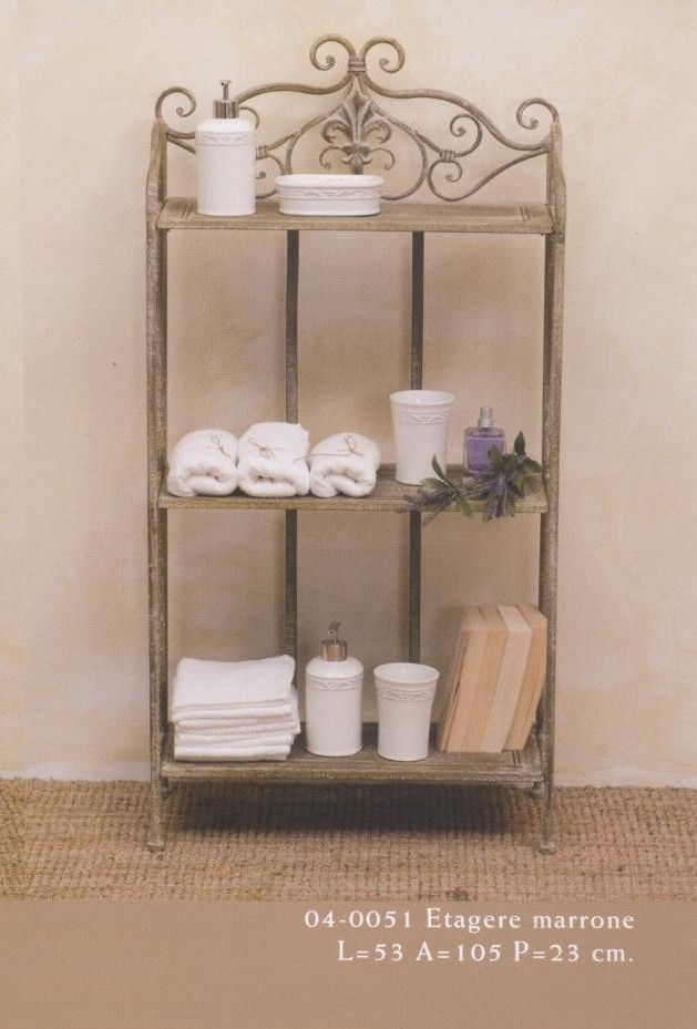 Etag re etag re et fer forg antique j 39 adore pinterest searching - Etagere fer forge ikea ...
