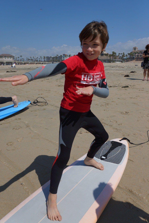 Huntington Beach Surf School Surfing, Kids photography