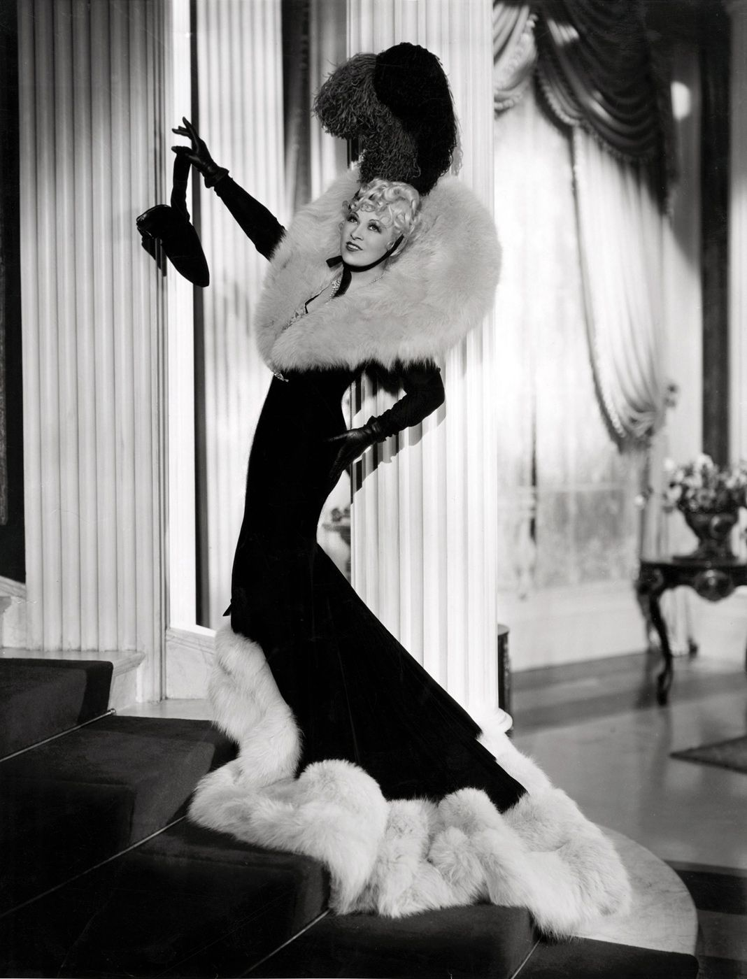 southerncharmm: ourmodernmaidens: Mae West by Eugene Robert Richee - Every Day's a Holiday (1937) Ugh costuming perfection