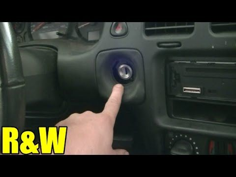How To Remove And Replace An Ignition Switch Chevy Monte Carlo Impala Pontiac Or Oldsmobile Chevy Monte Carlo Pontiac Sunfire Oldsmobile