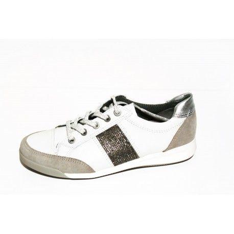 Basket Ara rom blanc livraison offert | Baskets, Chaussures