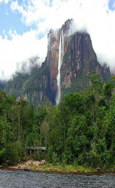 Venezuela | Angel falls venezuela, Waterfall, National parks