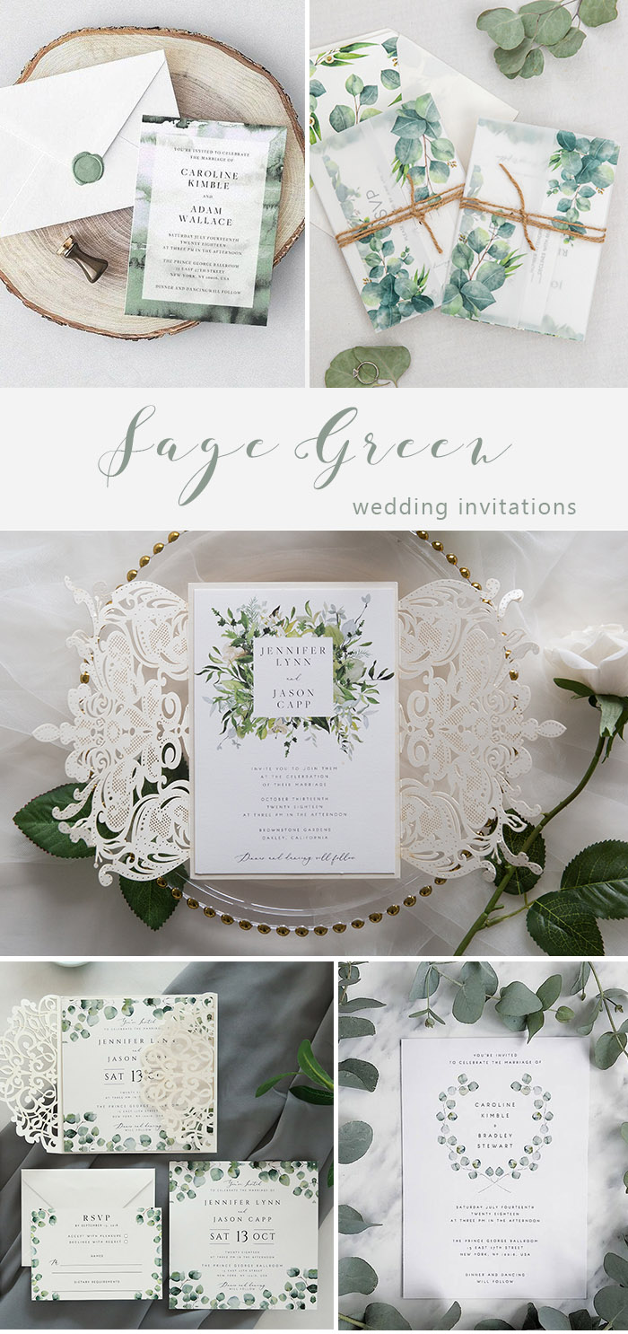 Greenery Wedding Invitations Elegantweddinginvites In 2020 Green Themed Wedding Wedding Invitation Trends Green Wedding Invitations