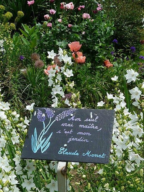 En bretagne le jardin de caradec 1 jardins le - Panneau ardoise jardin ...