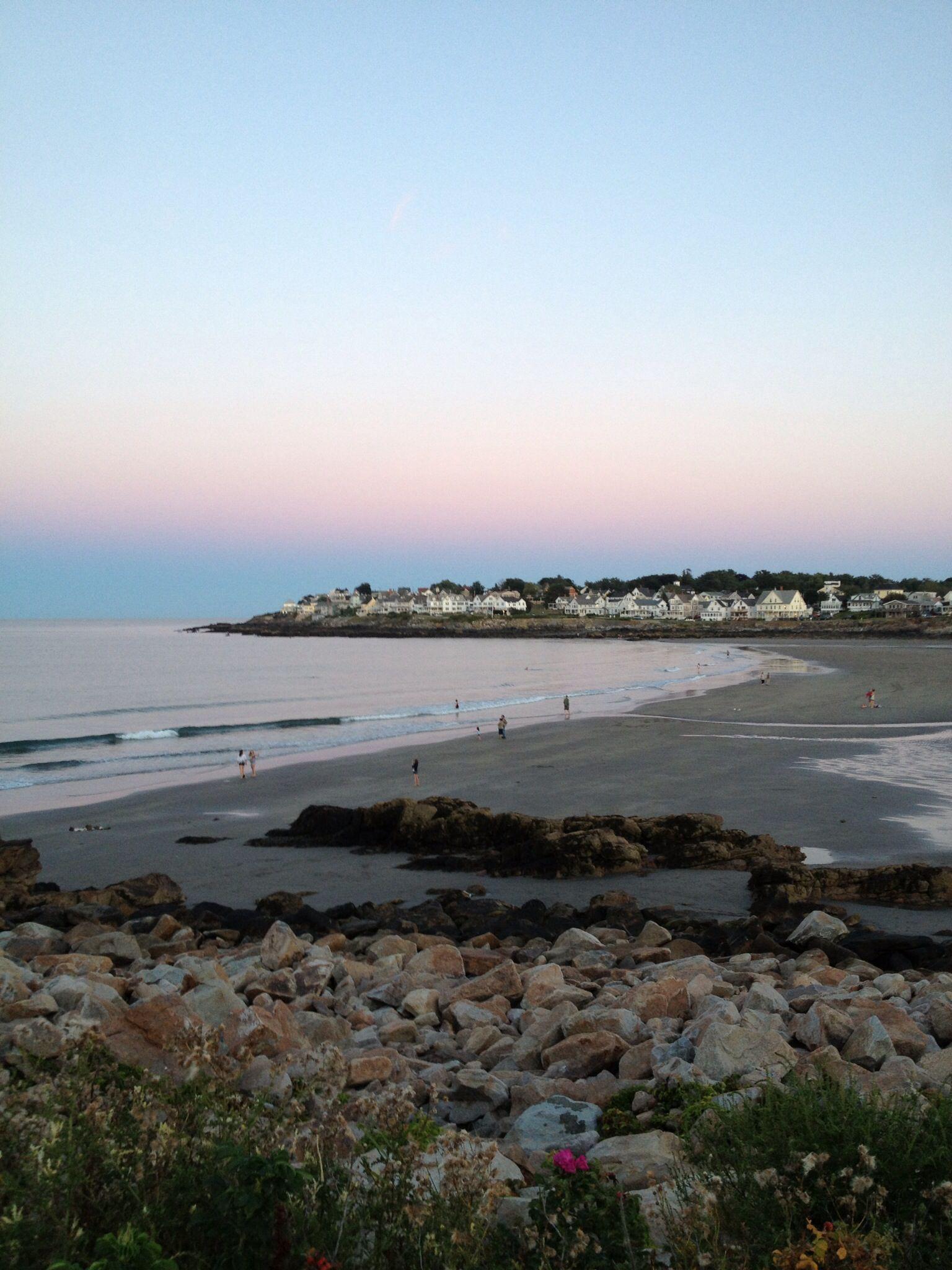 Short Sands At Sunrise York Beach Maine