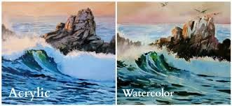 Image result for acrylic painting techniques