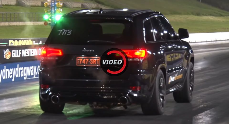 This Turbo D Jeep Grand Cherokee Srt Ain T Afraid Of No Trackhawk