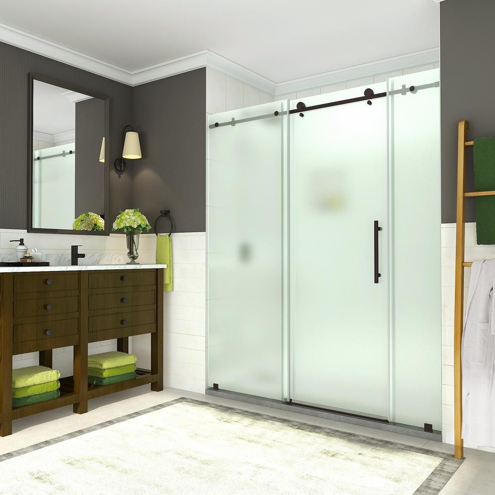 Aston Coraline 68 In To 72 In X 76 In Frameless Sliding Shower