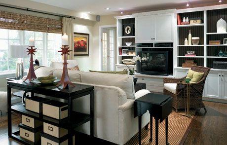 Candice Olson's Divine Design Multitasking Makeover Ideas Enchanting Divine Design Living Rooms