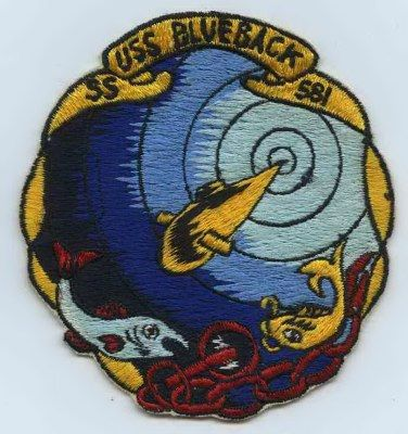 NAVY USS BLUEBACK SS-581 SUBMARINE CHALLENGE COIN