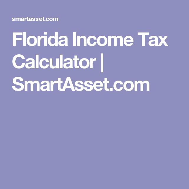 florida paycheck tax calculator