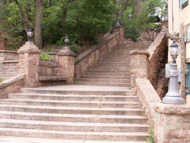 Stairway in Manitou Springs, CO  Walked up this stairway quite a few times! :) I miss it!! #manitousprings