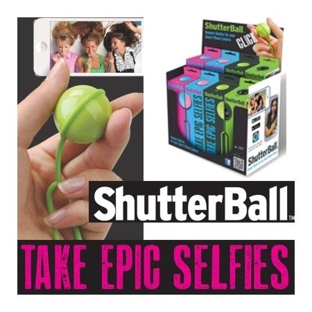 Have a selfie taker in the house?? Then ShutterBall is a must have
