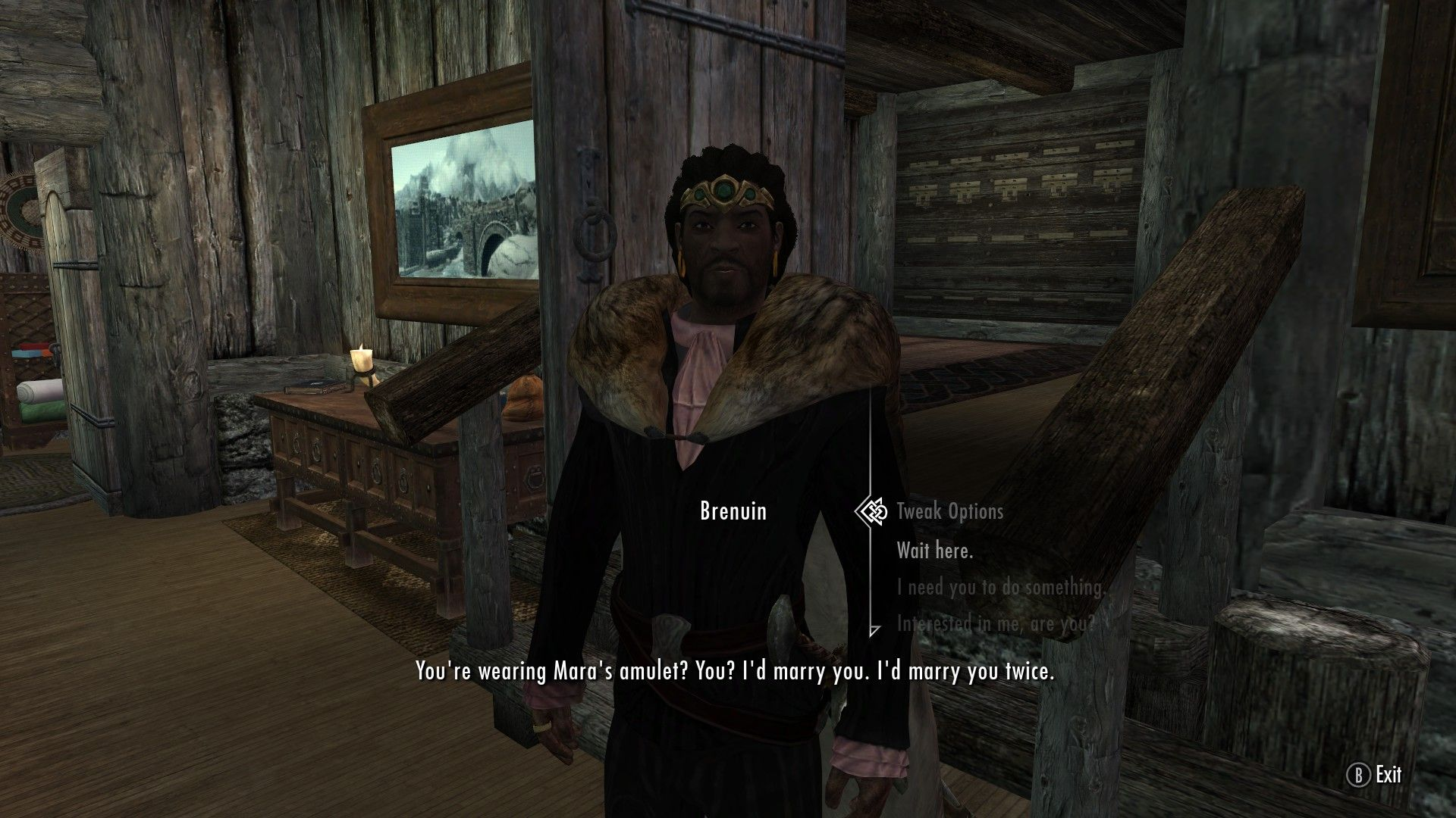 So I married Whiterun's town drunk #games #Skyrim