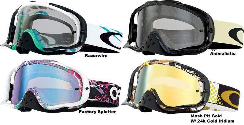 12977b5478 Oakley - 2014 Crowbar MX Goggles