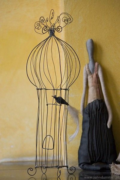 Love the wire cage  Very French  Could I make it? | DIY & Crafts