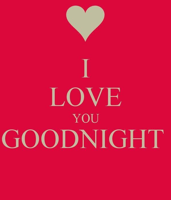 I Love Youand Miss Yougood Nightxxxlloe