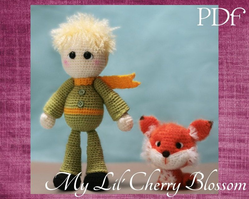 Amigurumi Male Doll Pattern : The little prince amigurumi doll pdf pattern the little prince