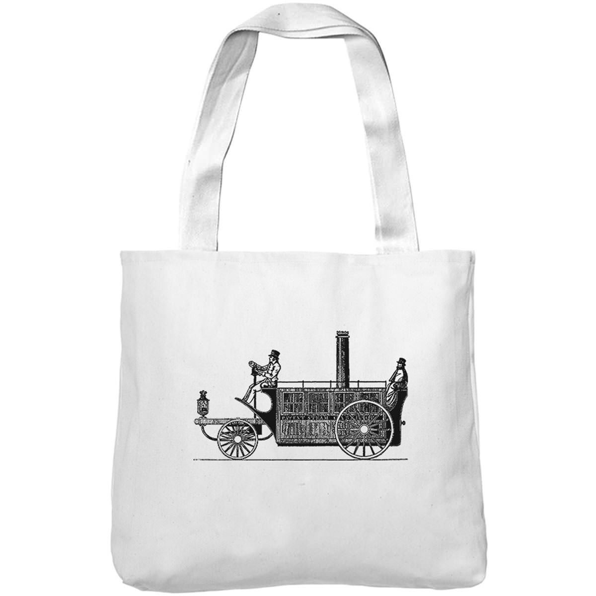 Mintage Steam Punk Carriage Museum Tote Bag