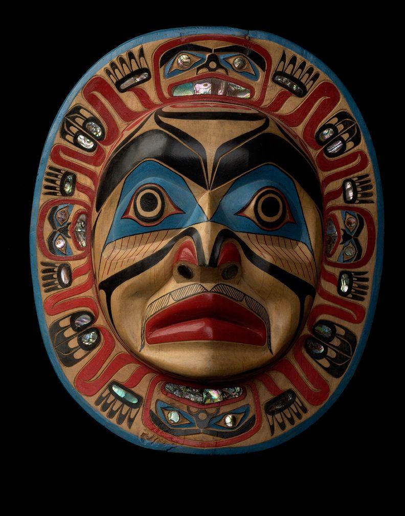 Kwakiutl Moon Mask By Nominal Hominid On DeviantART