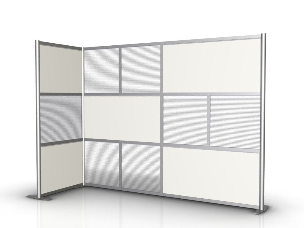 Modern office partitions and room dividers - Room Dividers For Office 100 L X 35 W X 75 High L