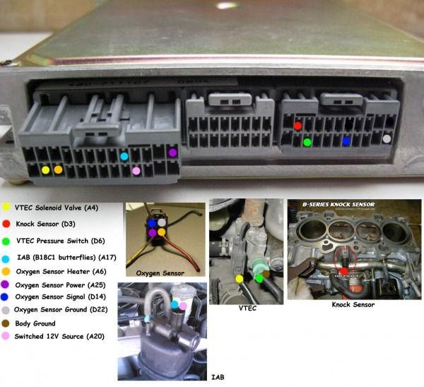 Pics Of Completed Vtec Obd1 P72 Ecu Wiring Vtec Ecu Car Ecu