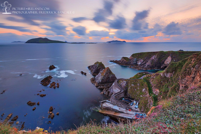 Dunquin Pier View County Kerry Ireland Travel Ireland Beautiful Beaches