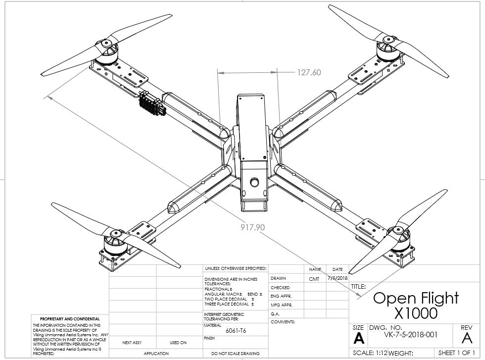 dimension sketches of a drone - Google Search in 2020   Fun video ...