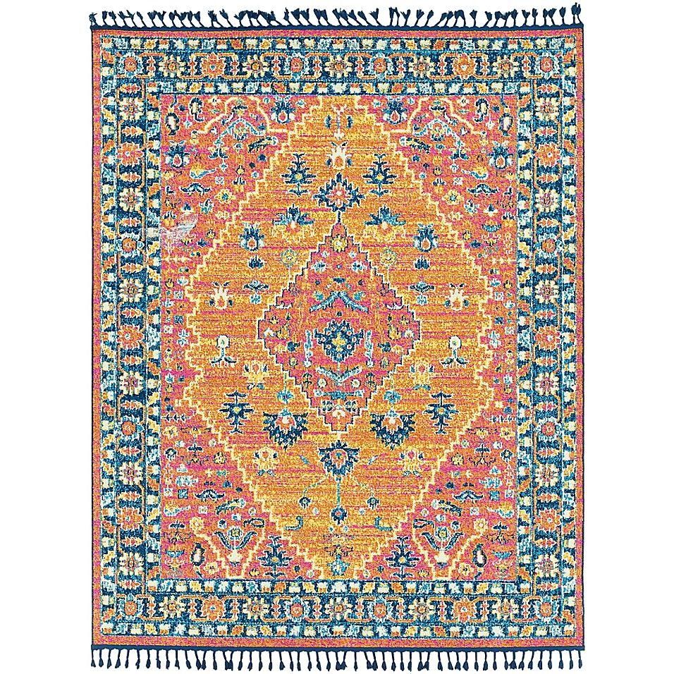 Surya Love Collection Center Medallion 7 10 X 10 Area Rug In