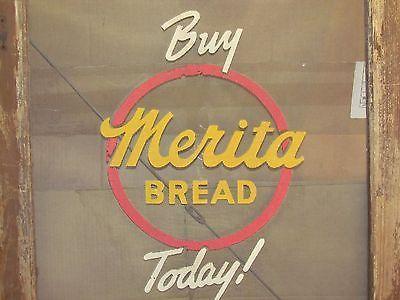 Vintage-1950s-Merita-Bread-OLD-COUNTRY-STORE-SCREEN-DOOR 125.00