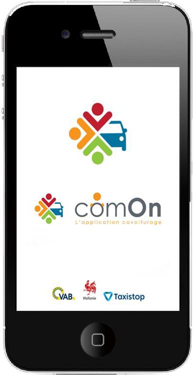L'application comOn Covoiturage, Service public