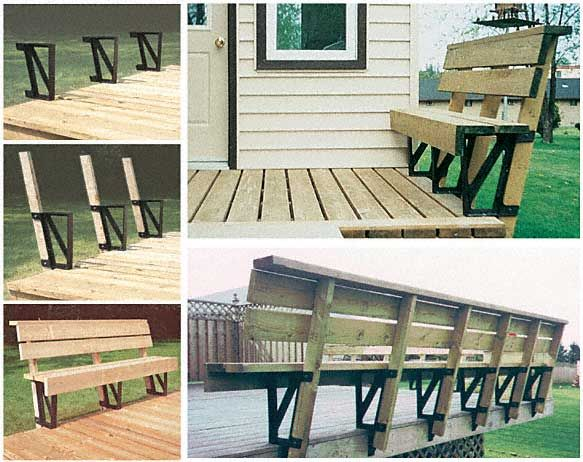 Benches Or Railings Deck Deck Seating Deck Design