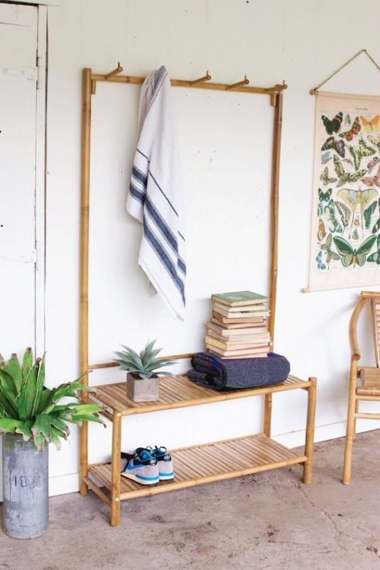 13+ Fantásticas Decoraciones de Bambú para Tu Hogar Bamboo - decoracion con bambu