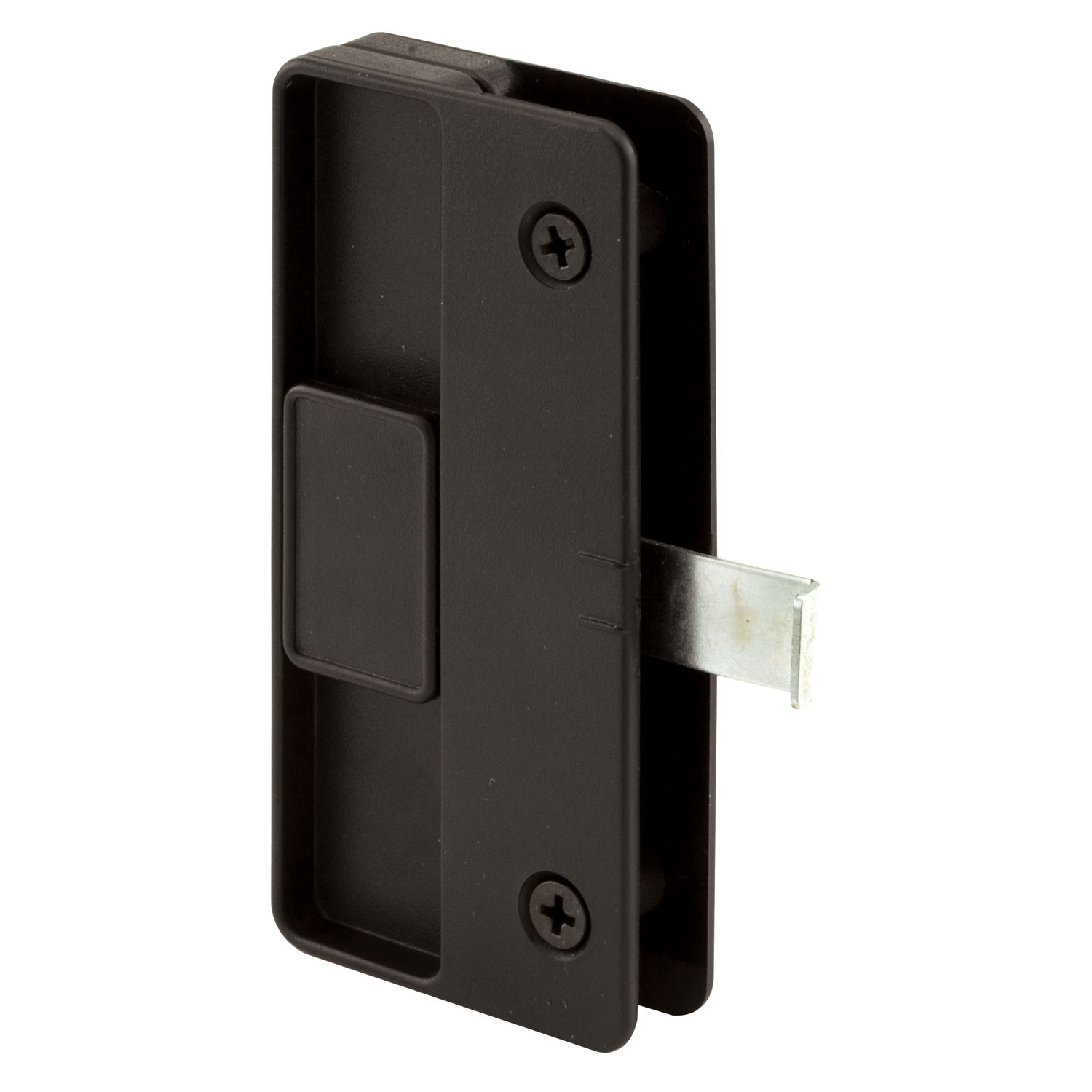 Prime Line A177 2 X 4 18 Black Plastic Sliding Screen Door Latch