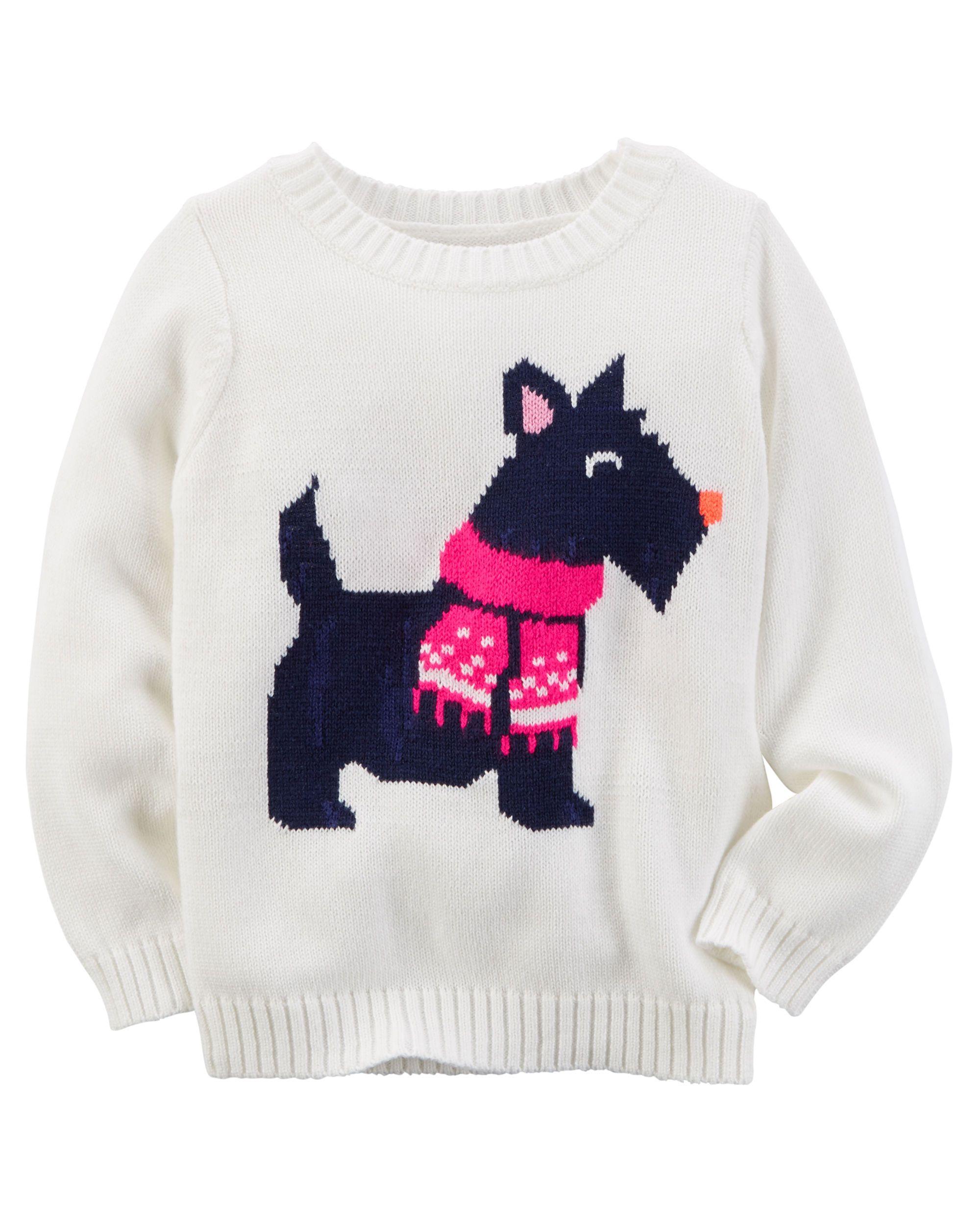 f3abfc4bc Baby Girl Fox Sweater