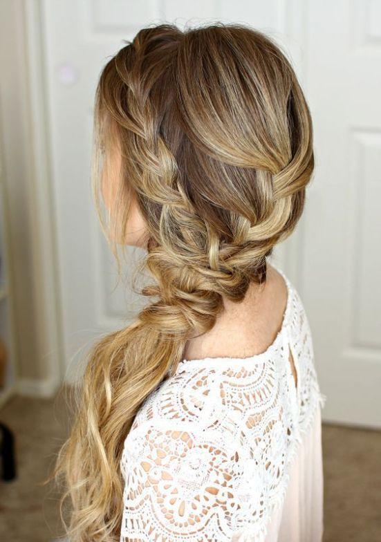 25 Chic Bridesmaid Hairstyles For Long Hair - crazyforus