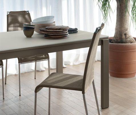 Sedia #cucina #sala #pranzo #beige #moderna #design | Sedie per ...