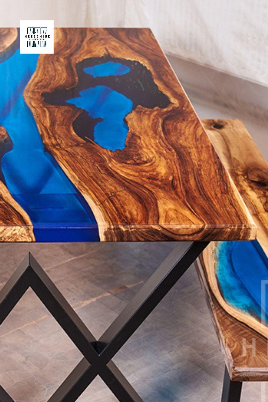 Epoxy Resin Table Wood Coffee Table Blue Epoxy Table Epoxy Wood Table Resin Table Epoxy Resin Table [ 1500 x 1000 Pixel ]