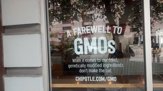 Chipotle is now GMO free!